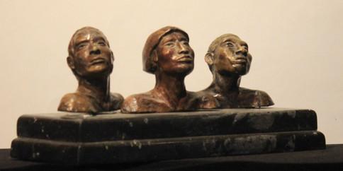 Cabezas indigenas