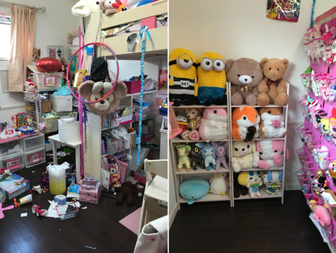 子供部屋 before&after