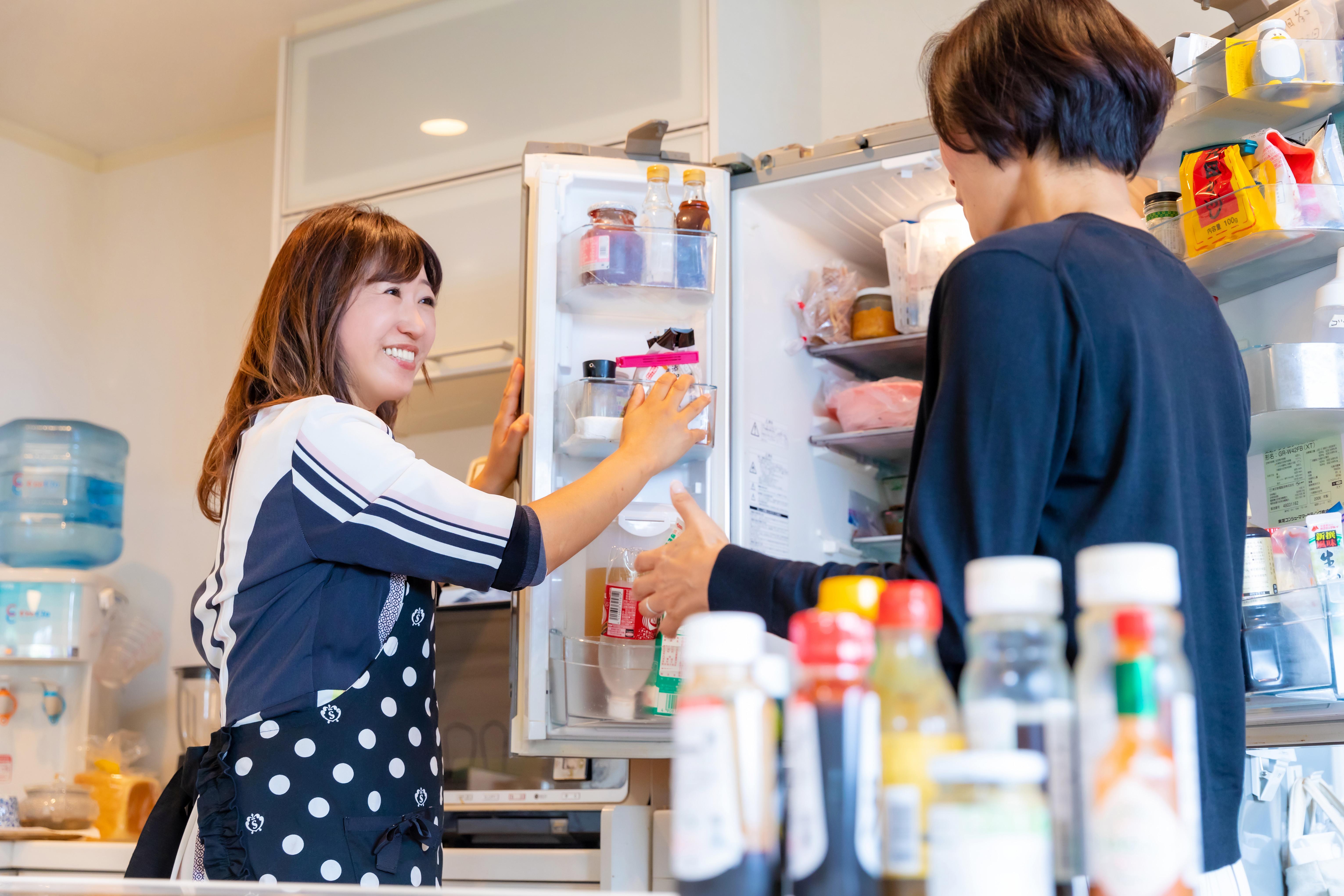 オンラインプライベートプログラム 栄養士と片付けるシリーズ「冷蔵庫編」