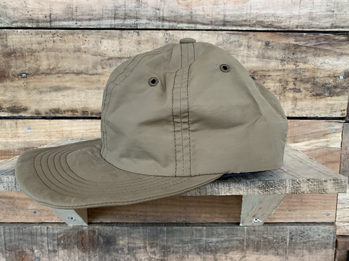 Hunthunt / 60/40 Waxed 6 Panel キャップkhaki