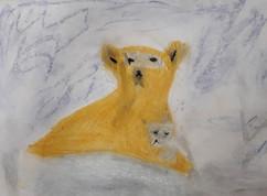 L'oursonne et son petit