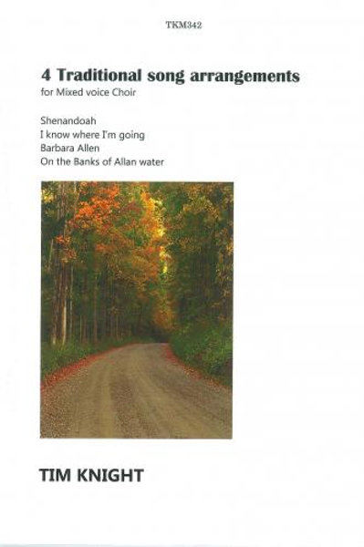 Booklet of 4 Traditional Arrangements