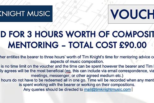 Saver Voucher - 3 Composition Lessons