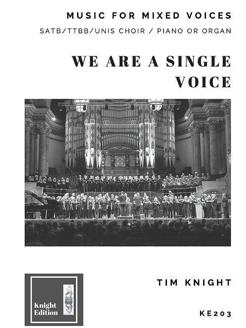 We are a single voice