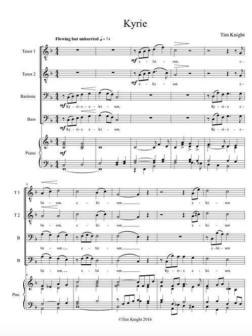 Missa Brevis for MVC (PDF Download)