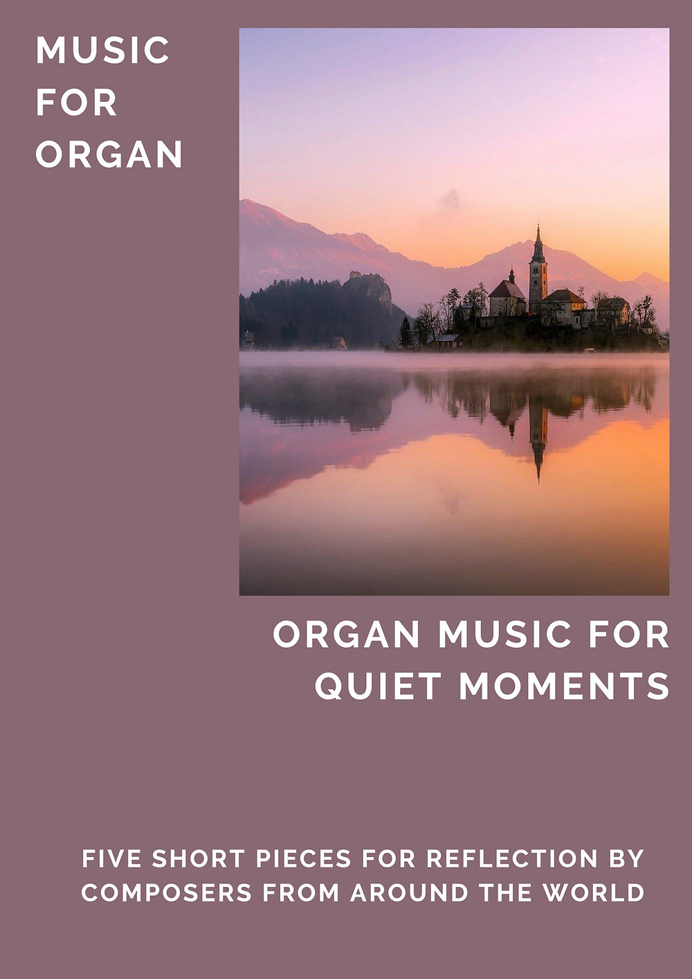 Winning organ competition pieces anthology booklet
