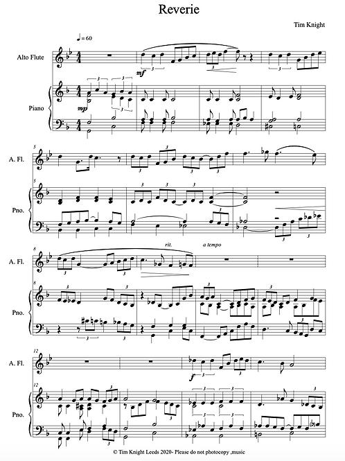 Reverie for Alto Flute (PDF Download)