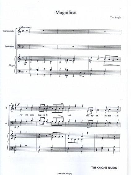 Evening Canticles (SATB)