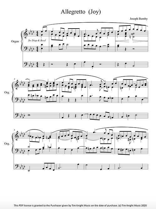 2 Organ Pieces (Barnby) (PDF Download)