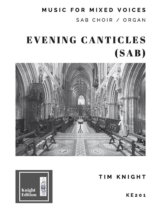 Evening Canticles (SAB)