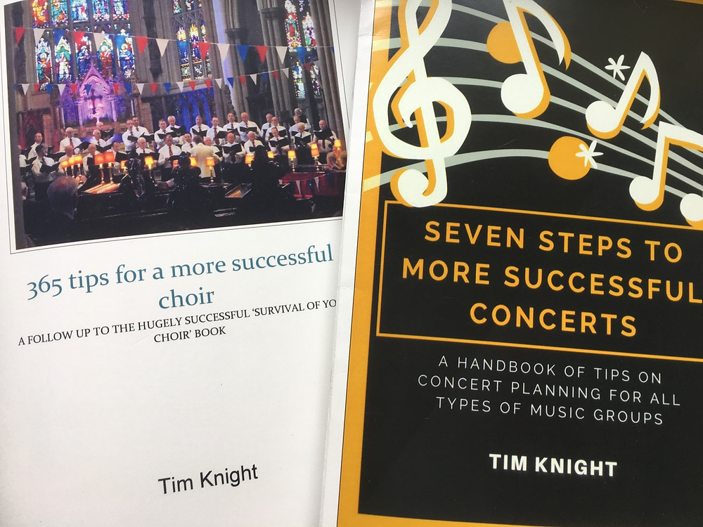 Choir and concert management survival guides