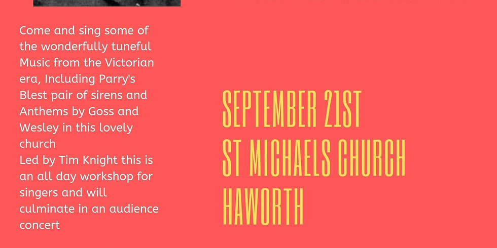 Haworth Sing Day - Come and Sing Victorian Music