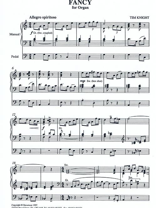 Fancy for Organ (PDF Download)