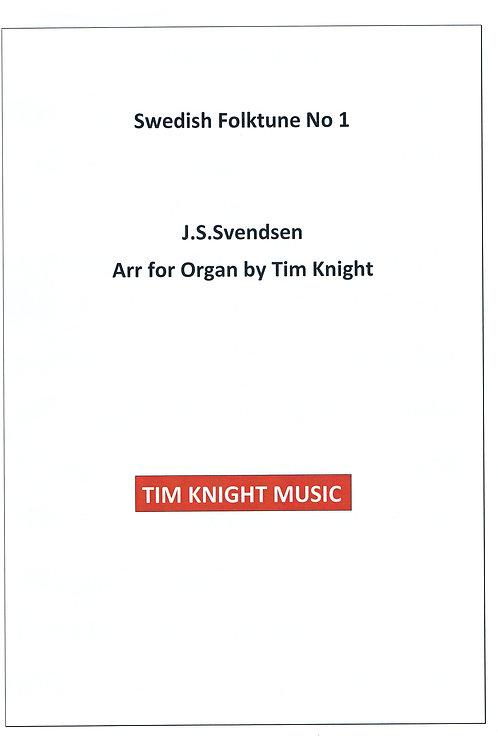 Swedish Folk Tune No 1 for Organ