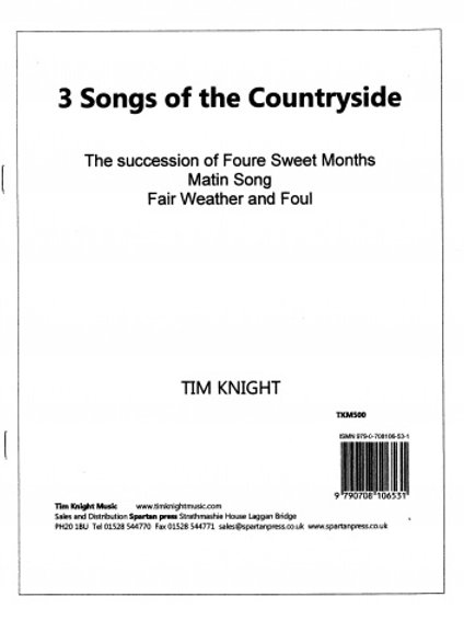 3 Songs of the Countryside