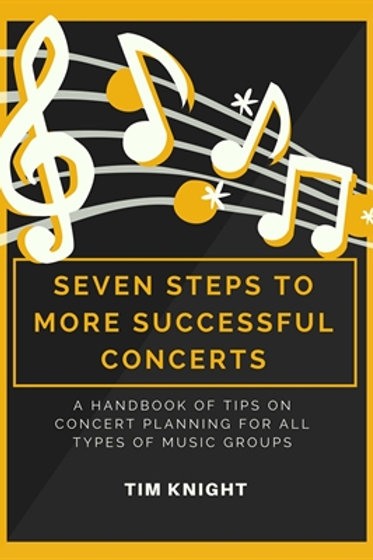 Seven Steps to More Successful Concerts (PDF Download)