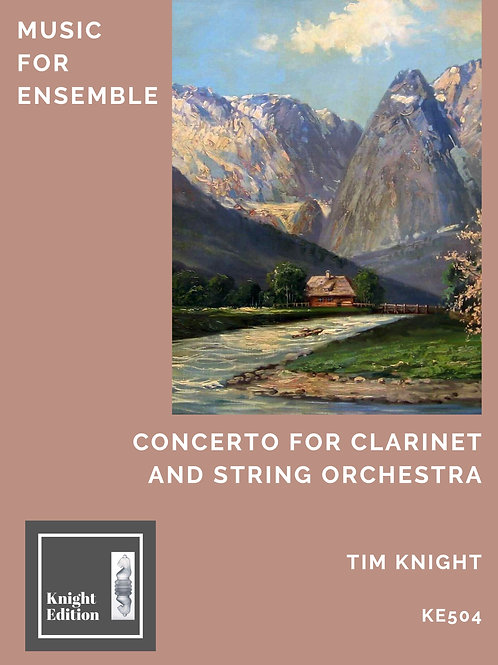 Concerto for Clarinet and String Orchestra