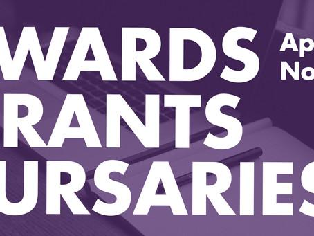 Call for Proposals: Awards, Grants, and Bursaries