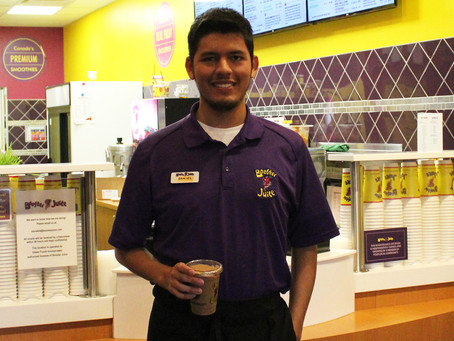 Success Story: Daniel & Booster Juice