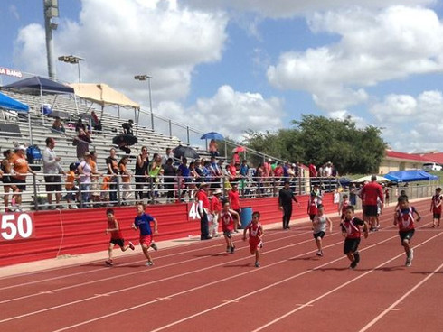 RGC Parks & Rec, Roma ISD Team Up to Host Track & Field Meet