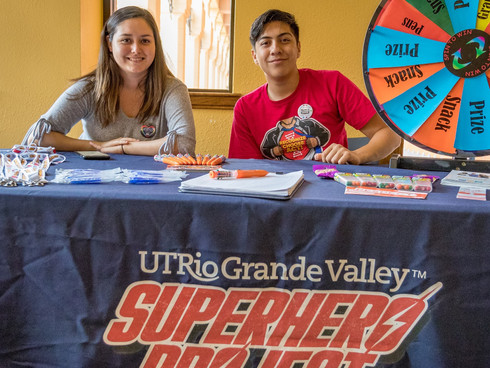 UTRGV Superhero Project Wins National Award