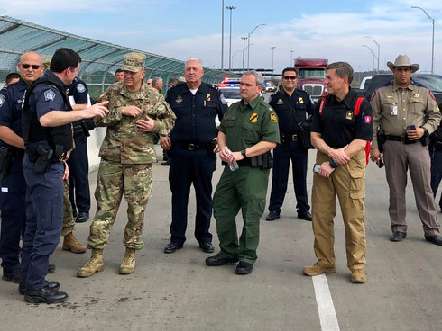 U.S. Customs and Border Protection Officers Return Home