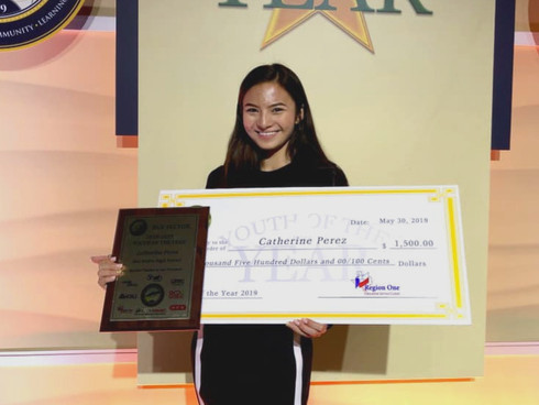 San Isidro High School Student Recognized as One of The RGV's Youth of the Year