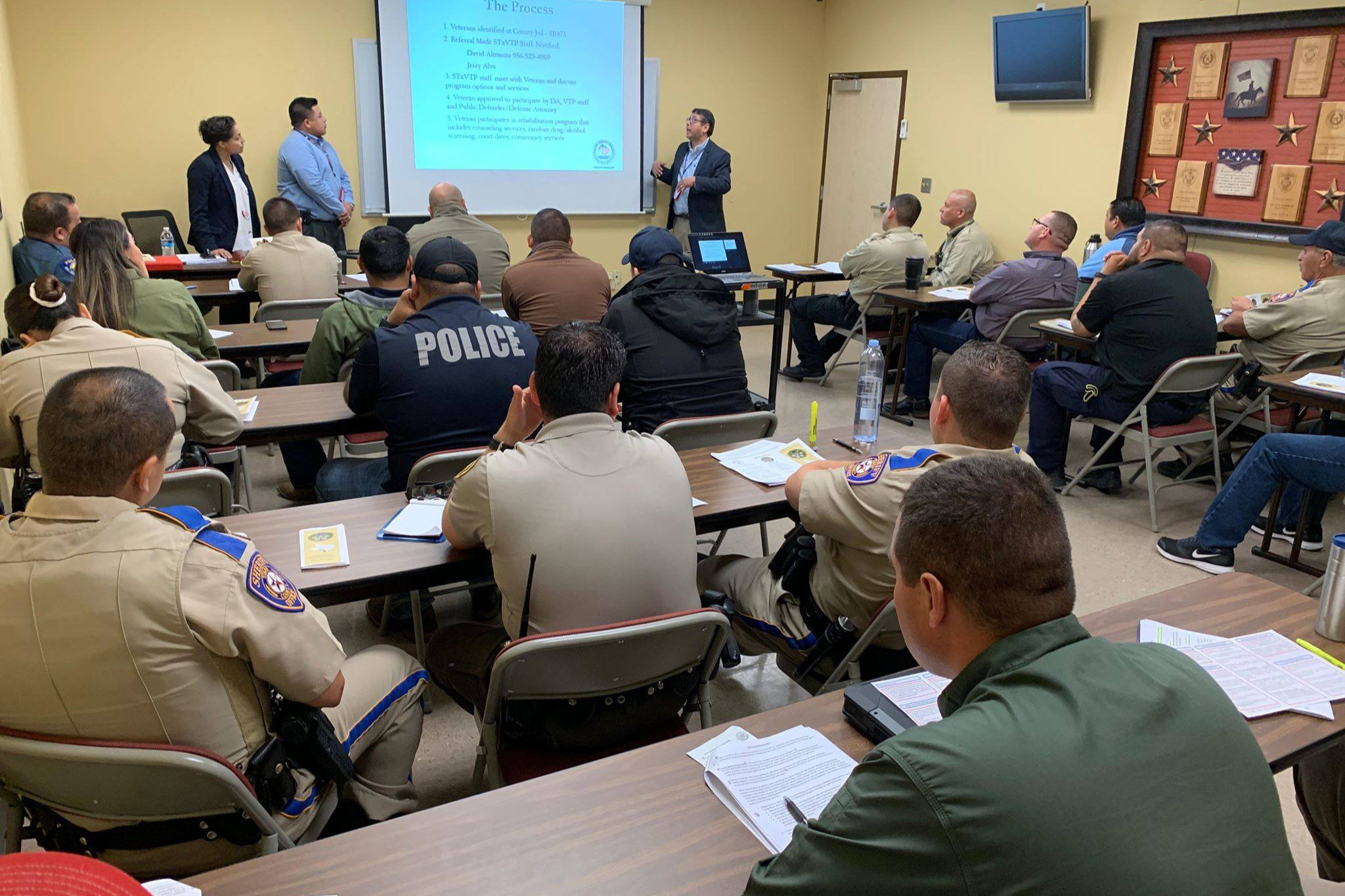 Local Law Enforcement Officers Attend Crisis Intervention