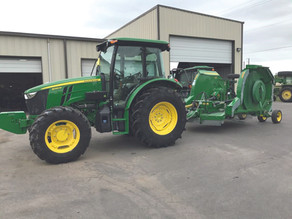 RGC Public Works Dept. Acquires New State-of-the-Art Tractor