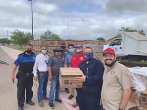 Rio Grande City Staff Aids South Texas Food Bank
