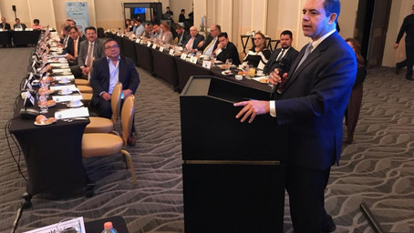 Rep. Cuellar Speaks on USMCA at U.S.- Mexico Border Conference in Mexico