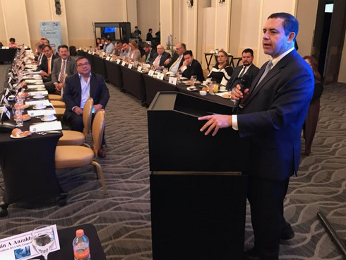 Rep. Cuellar Speaks on USMCA at U.S.- Mexico Border Conference in Mexico