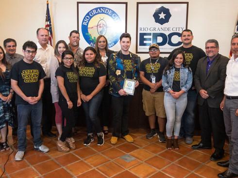 City of RGC Recognizes Club's Community Service Efforts