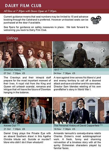 Catstrand - October Guide - Film Club (1