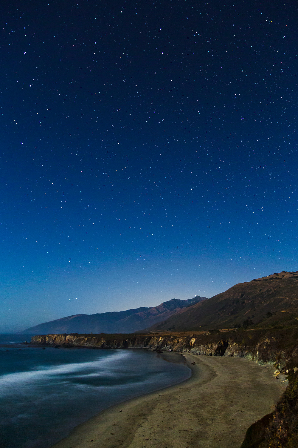 Sand Dollar Cove Northern Night Sky
