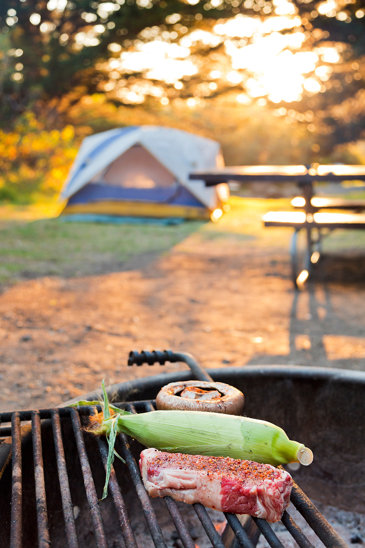 Campfire Dinner