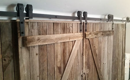 Custom Barn-Closet Door