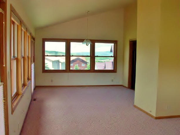 Fresh coat of paint in living room