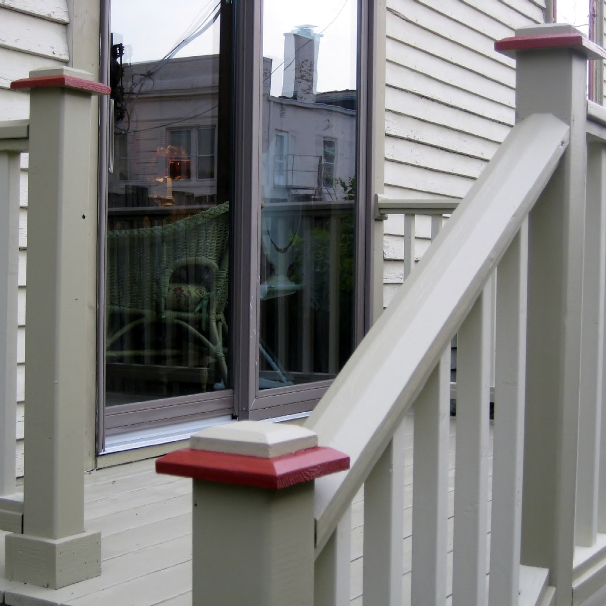 Painted Victorian exterior