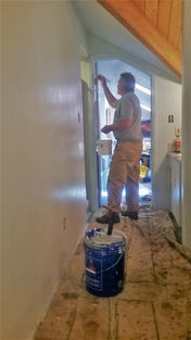 Skilled and meticulous painters