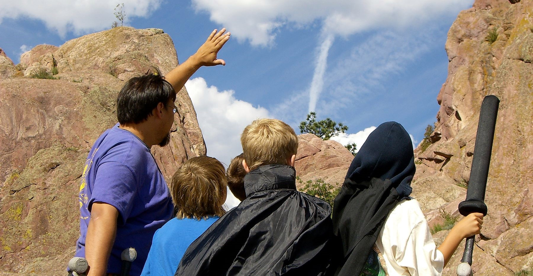 Joaquin and Group Looking at Sky.jpg