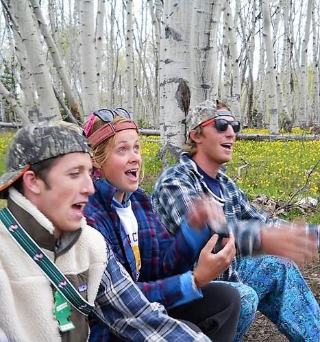 Singing camp staff