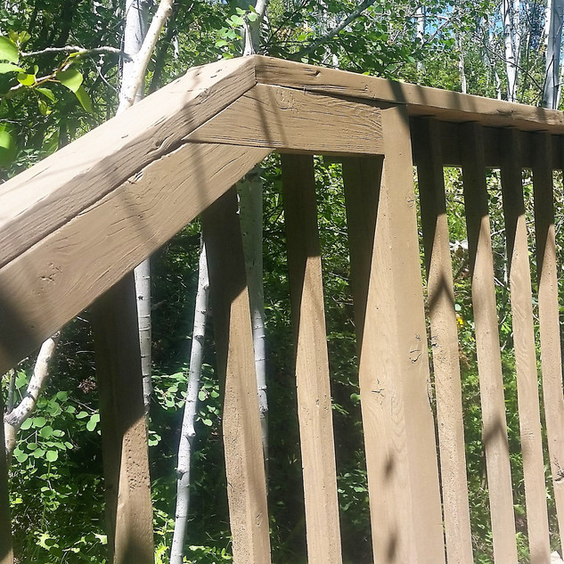 Deck stain and repair