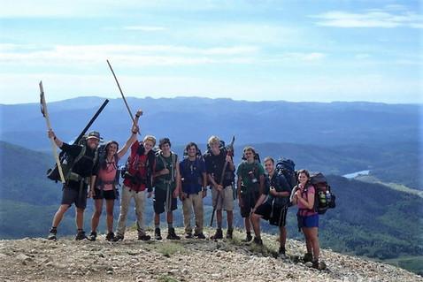 Celebrating a successful peak summit