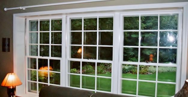 Semigloss on paned windows