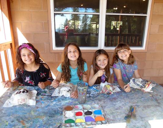 Fun with Art at Camp Jackson