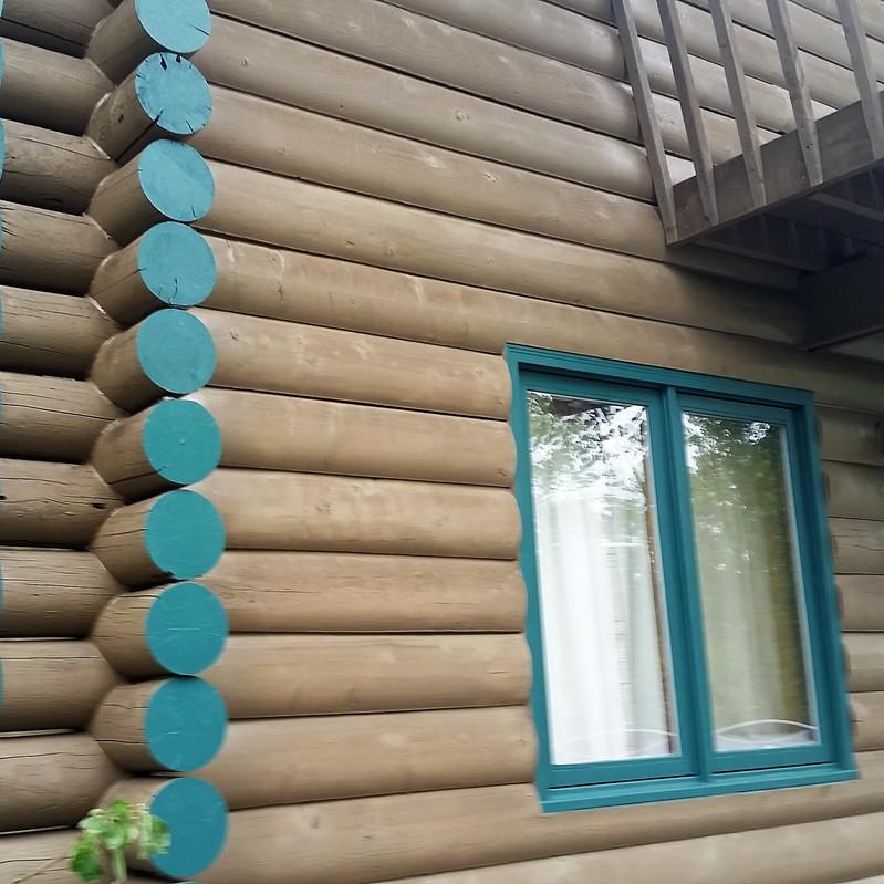 Shamrock Ranch cabin exterior 6-21-19 a.