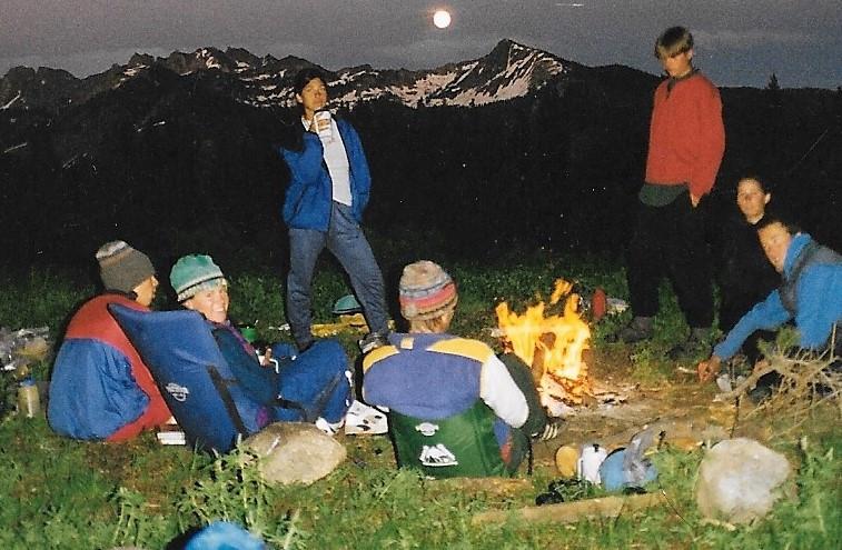 Full Moon Campfire