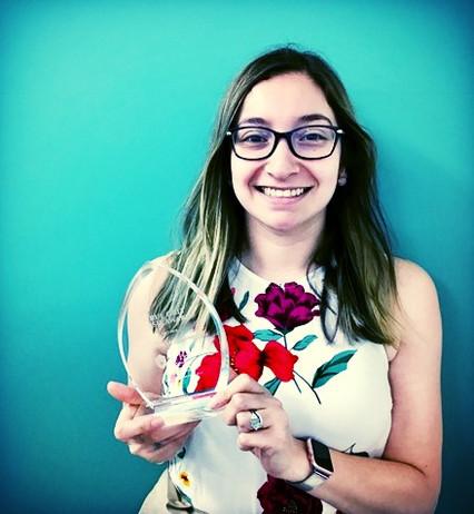 Elizabeth Ochoa Thomas receives True Grit award