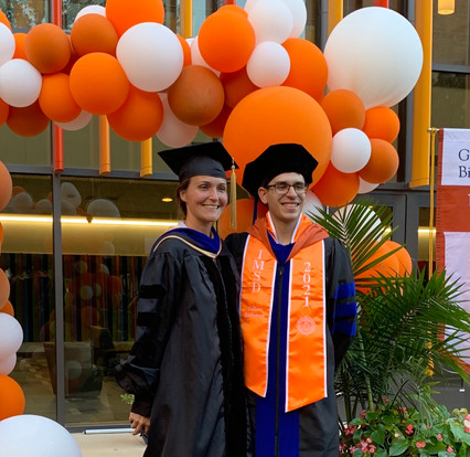 Adrian earns his PhD! Selected as commencement speaker!